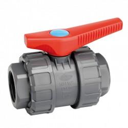 Válvula de esfera hembra roscar PVC - JIMTEN