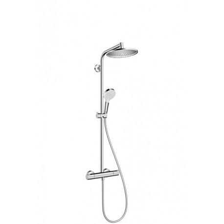 Conjunto de ducha termostático CROMETTA S 240 - HANSGROHE