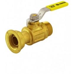 Válvula contador recta con mando de palanca TER - ARCO