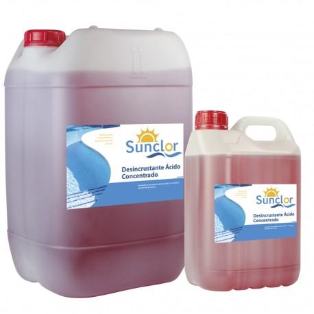 Desincrustante ácido concentrado 20 L - SUNCLOR
