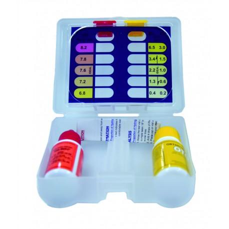 Kit test cloro y PH líquido - DPOOL