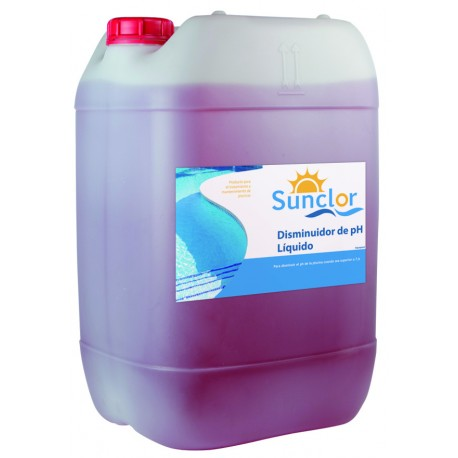 Reductor de pH 24KG - SUNCLOR