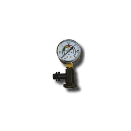 Kit manómetro + conexión lateral - DPOOL
