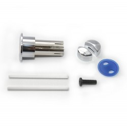 Pulsador dual para cisterna cromado D1D - ROCA