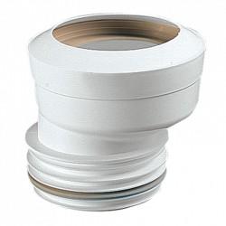 Manguito inodoro elástico excéntrico 90-18 mm S-219 - JIMTEN