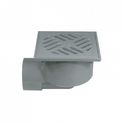 Sumidero sifónico salida horizontal PVC S-191 - JIMTEN