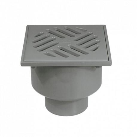 Sumidero sifónico salida vertical hembra PVC S-192 - JIMTEN