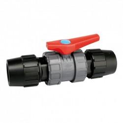 Válvula de esfera enlace tubo PE - JIMTEN
