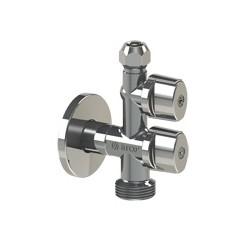 Llave angular para lavadora 1/2Mx3/8Mx3/4M COMBI MAC ANTICAL - ARCO
