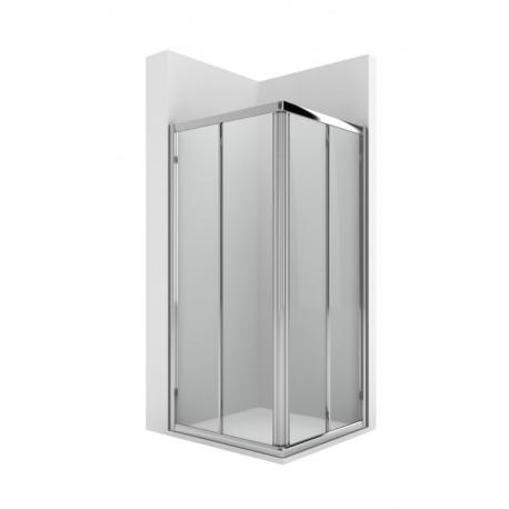 Mampara de ducha con 2 puertas correderas VICTORIA - ROCA