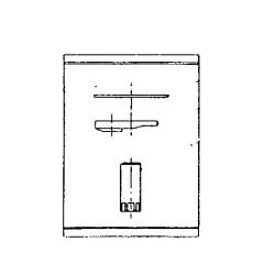 Complemento de fijación para grifería de lavabo o bidé VICTORIA PLUS - ROCA