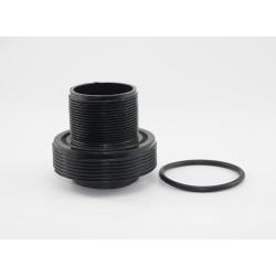 """Pasamuros y junta tórica para filtro de piscina 2"""" 63mm - CORAL"""