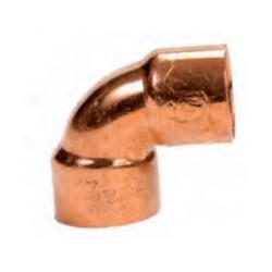 Codo de cobre 90º HH SERIE 5000 - Conex Bänninger
