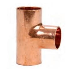 Te de cobre HHH SERIE 5000 - Conex Bänninger