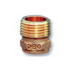 Adaptador de bronce HM Series 4000 - Conex Bänninger