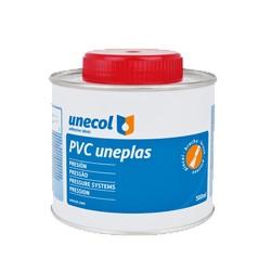 Pegamento PVC UNEPLAS con pincel - UNECOL
