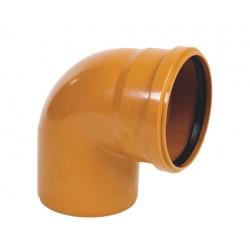 Codo de PVC M-H 87º - CREARPLAST