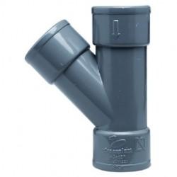 DERIVACION SIMP PVC H-H 32-45