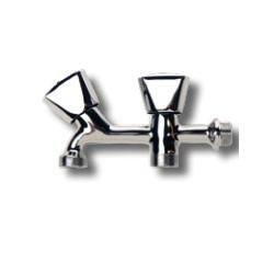 Grifo doble (salidad 3/4) para lavadora - INYECTOMETAL