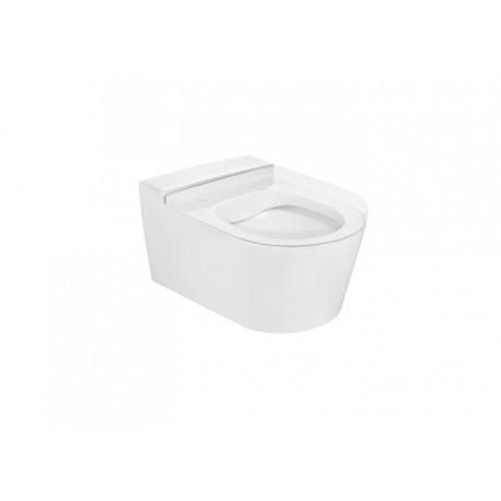 Inodoro de porcelana suspendido RIMLESS INSPIRA Round - ROCA