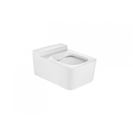 Inodoro de porcelana suspendido RIMLESS INSPIRA Square - ROCA
