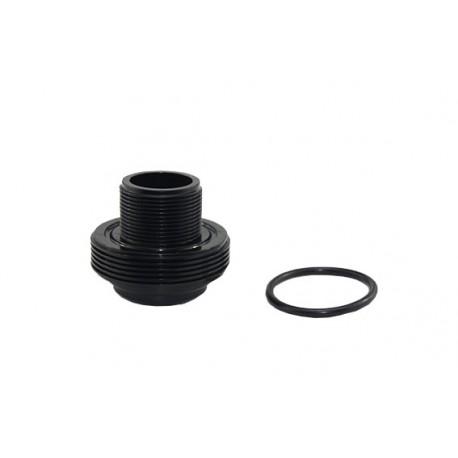 """Pasamuros y junta tórica para filtro de piscina 1/2"""" 50mm - CORAL"""