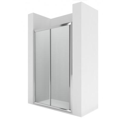 Mampara de ducha con puerta corredera 1200x1900 VICTORIA - ROCA