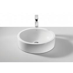 Lavabo de porcelana de sobre encimera FUEGO - ROCA