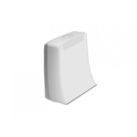 Cisterna de doble descarga 6/3L con alimentación inferior para inodoro KHROMA - ROCA