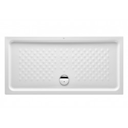 Plato de ducha rectangular de porcelana 1400x700 ITALIA - ROCA