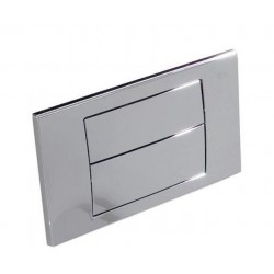 Placa de accionamiento con descarga dual IN-WALL - ROCA