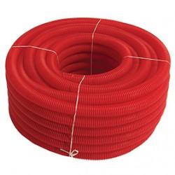 Aislante de PVC rojo (rollo de 50 metros)