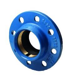 Brida doble con cámara antitracción para tubo PE - ATUSA