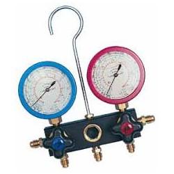 Manómetro de pistón 2 vías F2PF80/A4 - WIGAM