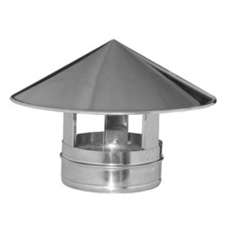Sombrerete chimenea de acero inoxidable DP - DINAK
