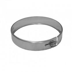 Abrazadera unión de acero inoxidable 150 mm - DINAK