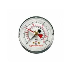 Manómetro para bomba de comprobación - ROTHENBERGER