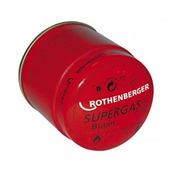 Cartucho de gas butano Supergas C 200 - ROTHENBERGER