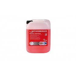 Desincrustante ROCAL Acid Plus 5 kg. Cu. Acero - ROTHENBERGER
