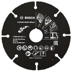 Disco multimaterial de carburo para amoladora - BOSCH