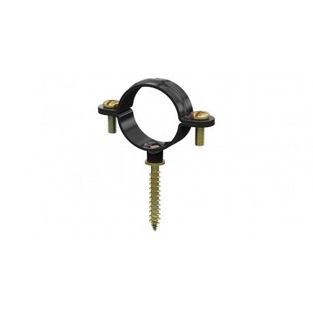 Abrazadera metálica ligera M6 con tirafondos - DESA