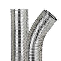Tubo de aluminio flexible para ventilación - DISMOL