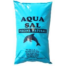 Sal granulada para piscina 25 KG