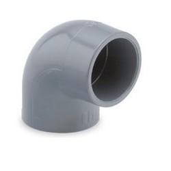 Codo 90º encolar PVC presión - HIDROTEN