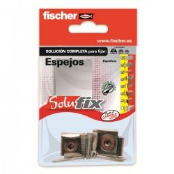 Kit de fijación para espejos SOLUFIX - FISCHER