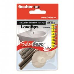 Kit de fijación para lavabos SOLUFIX - FISCHER