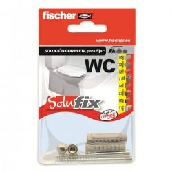 Kit de fijación para WC SOLUFIX - FISCHER