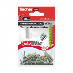 Kit de fijación para termos o acumuladores SOLUFIX - FISCHER