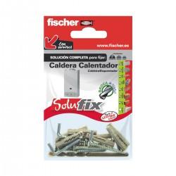 Kit de fijación para calderas o calentadores SOLUFIX - FISCHER