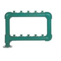 Batería de polipropileno de 2 filas